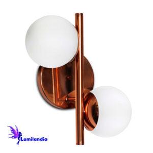 Luminária de Parede Arandela Las Dos com Globos