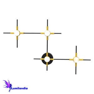 Luminária de Sobrepor Arandela/Plafon Moderna Rasquera - LED Integrado