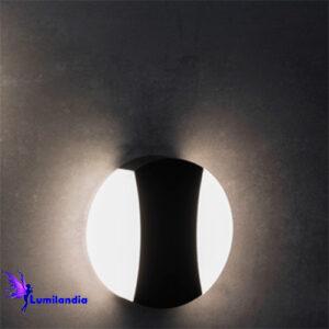 Luminária de Parede Arandela LED Moderna Medir Redonda