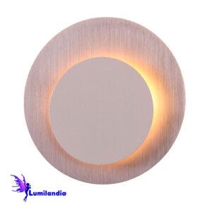Luminária de Parede Arandela Moderna Redonda Eclipse Argentona - LED Integrado