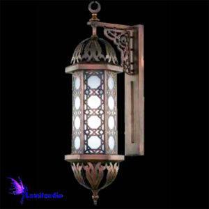 Luminária de Parede Arandela Lanterna Oriental Árabe Escura para 1 Lâmpada