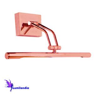 Luminária de Parede Arandela para Espelho/Quadro Tubular Média