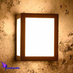 Luminária de Parede Arandela Quadrada LED Cub
