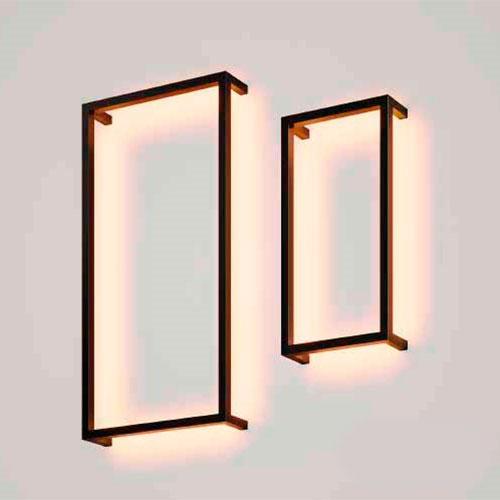 Luminária de Parede Arandela Rebatedora Retangular