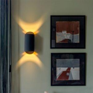 Luminária de Parede Arandela Moderna com Luz Direcional