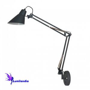 Luminária de Parede Articulada Moderna Kegle