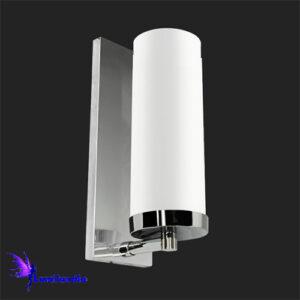 Luminária de Parede Arandela Tubo de Vidro Média - 28cm