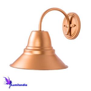 Luminária de Parede Arandela Cúpula Mini Foco