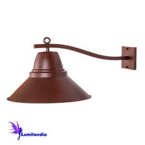 Luminária de Parede Arandela Mini Mercúrio Foco