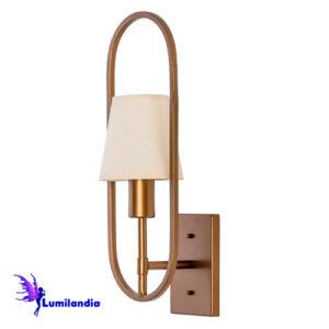 Luminária de Parede Arandela Moderno Sapigue com Aro