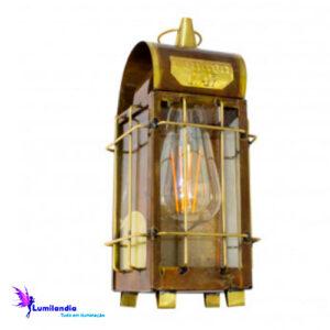Luminária de Parede Lanterna Londrina