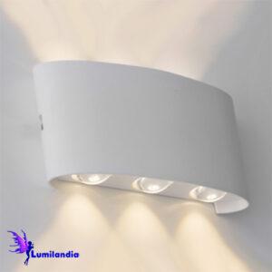 Luminária de Parede Arandela LED Moderna Ranne