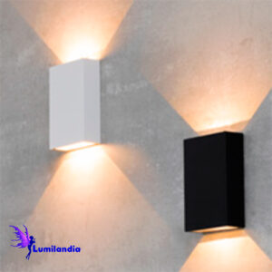 Luminária de Parede Quadradinha Arandela LED Moderna Fit
