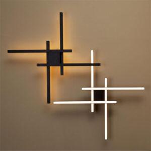 Luminária de Sobrepor Regola Hash - LED INTEGRADO