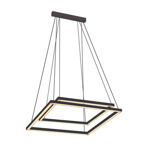 Luminária de Sobrepor Pendente Regola Modular Quadrado Duplo - LED INTEGRADO