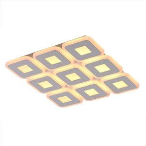 Luminária de Sobrepor Plafon 9 Quadrados - LED Integrado