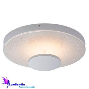 Luminária de Sobrepor Plafon Redondo Kiara LED - Grande 40cm