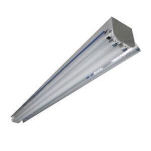 Luminária Calha Dupla de Sobrepor com Refletor