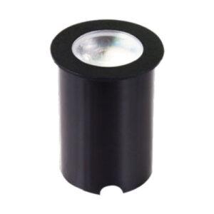 Balizador Embutido de Solo Redondo - LED INTEGRADO