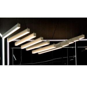 Luminária de Sobrepor LED Pendente Retangular