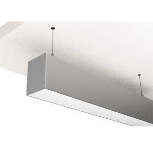 Luminária Perfil LED Pendente Retangular