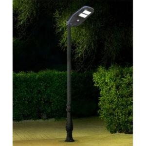 Luminária Pétala Poste Solar LED 10W