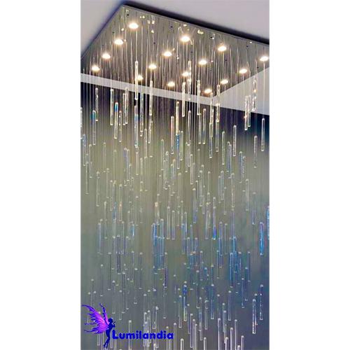 Lustre de Cristal Moderno Garoa