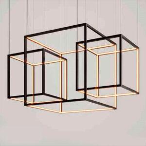 Luminária Pendente de LED Cub