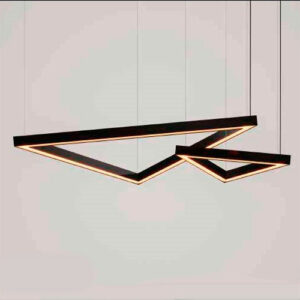 Luminária Pendente de LED Triângular