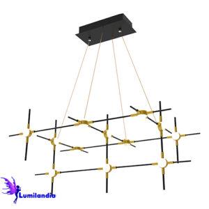 Lustre Pendente Moderno Rasquera - LED Integrado