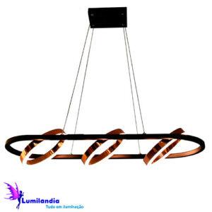 Pendente Moderno Anilho - LED Integrado