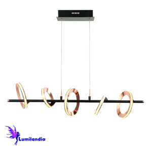 Lustre Pendente Moderno Albacete - LED Integrado