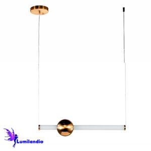 Lustre Pendente Moderno Barra Avilla - LED Integrado