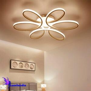 Lustre Plafon Moderno Flor - LED Integrado