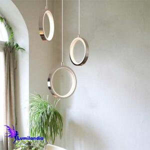 Pendente Aro Soleil Moderno LED Integrado