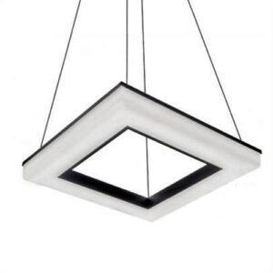 Pendente LED Plafon de Sobrepor Bear Quadrado