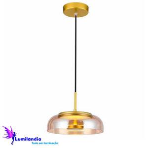 Pendente Moderno Disko - LED Integrado