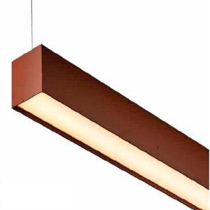 Luminária Pendente de Perfil LED Saída Recuada - 63mm