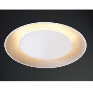 Luminária Plafon de Embutir LED Retina Redondo Luz Indireta