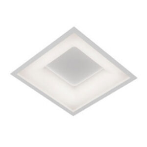Plafon de Embutir LED New Ghost Quadrado Furo Central