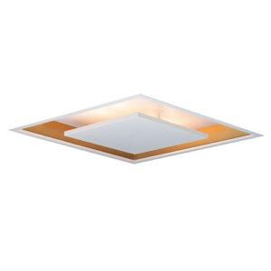 Luminária Plafon de Embutir LED Image Quadrado Luz Indireta