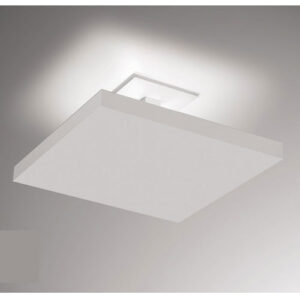 Plafon de Sobrepor Tray LED Quadrado Luz Indireta