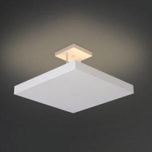 Plafon de Sobrepor Quadrado Home Luz Indireta