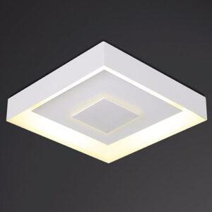 Luminária Plafon de Sobrepor Drags Quadrado Luz Indireta