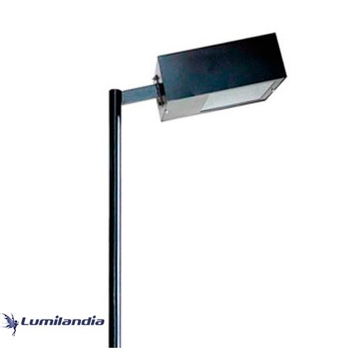 Poste Pétala Retangular para Lâmpada LED