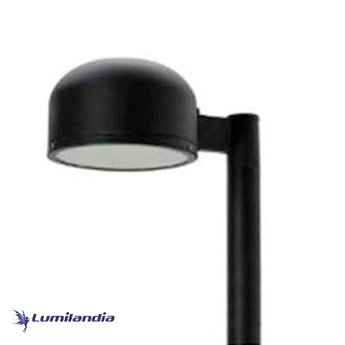 Poste Pétala Redonda Abaulada para Lâmpada LED