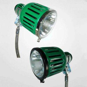 Proteção a Lâmpada para Luminária Industrial - Aro e Vidro