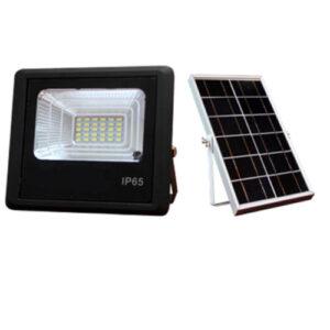 Refletor LED com Placa Solar - A prova D'água IP65