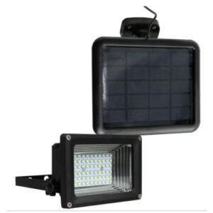 Refletor LED com Placa Solar