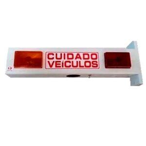 Sinalizador de entrada ou saída de garagem - LED